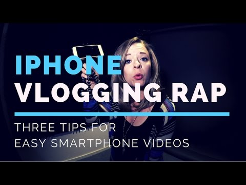 Three Easy Tips for iPhone Video Vlogging- Paige Media Rap Video