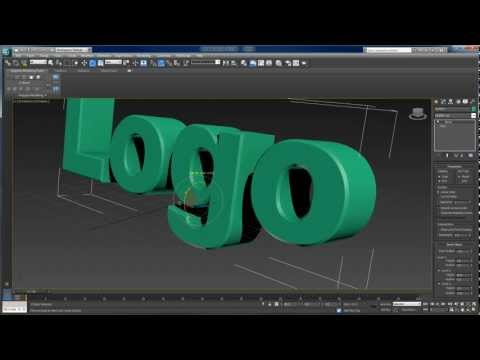 3D Text Animation with 3ds max