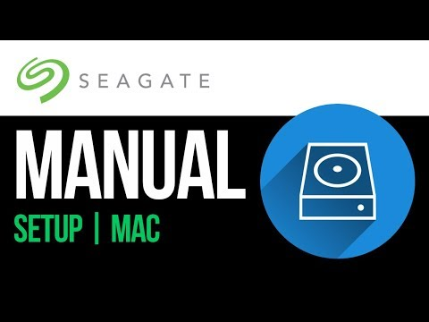 Seagate external hard drive Set Up Guide for Mac 2019