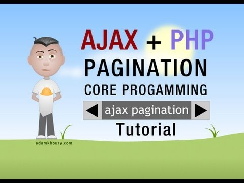 Ajax Pagination Tutorial PHP MySQL Database Results Paged With JavaScript