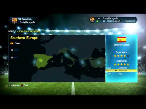 FIFA 14 Career Mode - Barcelona Youth Academy Challenge