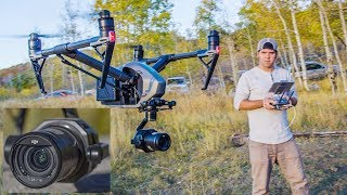 NEW DJI INSPIRE 2 ZENMUSE X7 6K CAMERA!