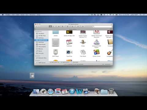 Add and Remove Apps in the Dock of a Mac
