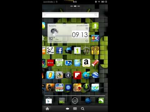 how to change kindle fire wallpaper ROOT NEEDED