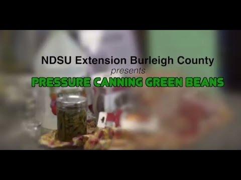 Green Beans:  Why Pressure Can vs. Water Bath
