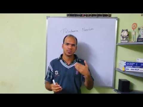 Java Tutorial : Palindrome