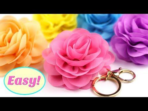 EASY Keychain DIY | Flower key chain | DIY Projects for Girls