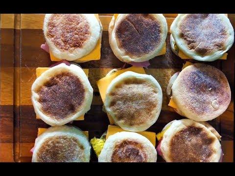 Vacuum Sealed Breakfast Sandwiches