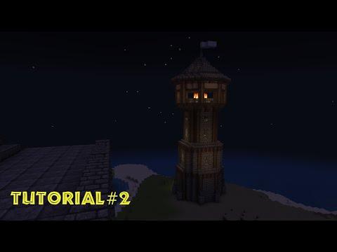 Minecraft Tutorial - Leuchtturm bauen - build a Lighthouse #2
