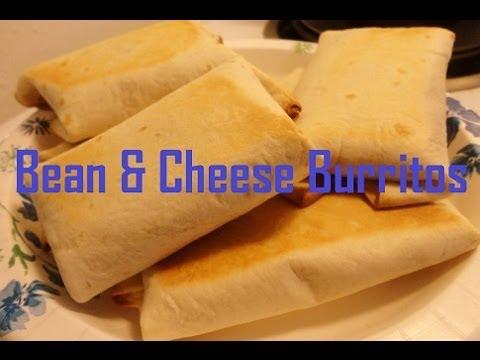 Super Easy Bean & Rice Burritos
