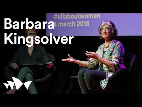 Barbara Kingsolver at Sydney Opera House | all about women 2018