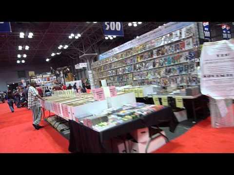 Inside Comic Con 2012 in Jacob K Javits Center
