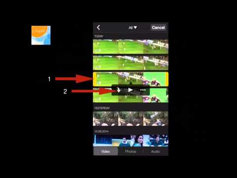 Slow & Faster Motion videos using iMovie in iPhone & iPad