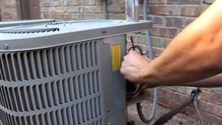 Ac Fan Not Working How To Repair Broken Hvac Run Start Capacitor Air