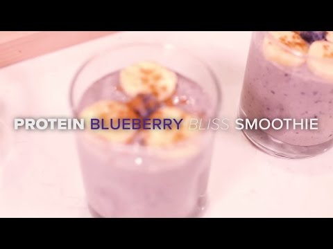 Protein Blueberry Bliss Smoothie
