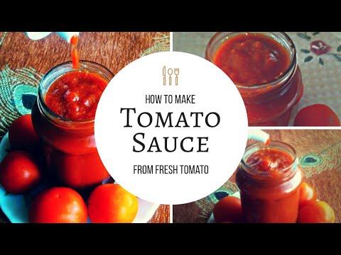 Tomato Ketchup Recipe| Tomato Sauce Recipe|Homemade Tomato Sauce|टोमेटो साँस बनाने की विघि|