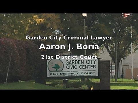 Garden City Lawyer - 21st District Court - Judge Hammer