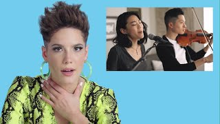 Download Halsey Watches Fan Covers on | Glamour Video