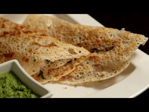 Instant Rava Dosa Recipe | Quick Semolina Dosa Recipe – South Indian Cuisine | Ruchi's Kitchen