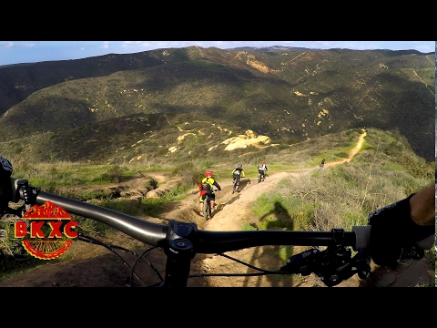 Craziest trails I've ever ridden - Mountain Biking Telonics, Art School and Lynx in Orange County