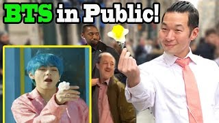 Download BTS ″Boy with Luv″ feat Halsey - BTS Dance in Public!! Video