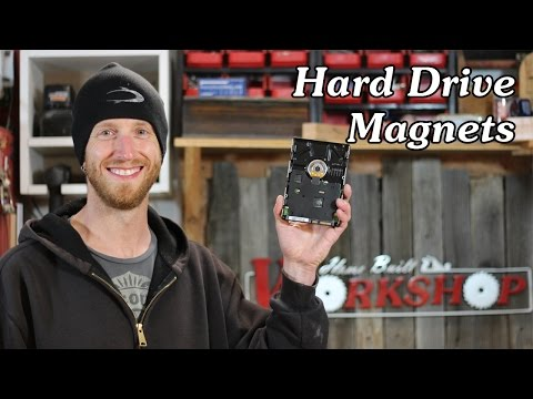 How to Disassemble a Hard Drive to get the Magnets