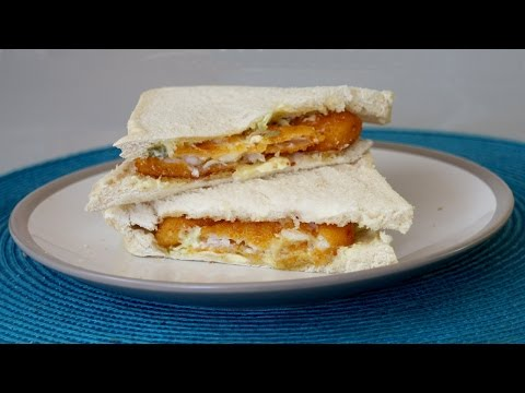 How to Make a Fish Finger Sandwich
