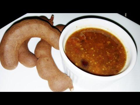 Sweet and Savory Tamarind (Tambran) Chutney: Trini Style