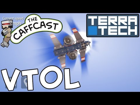 TerraTech - How To Make A VTOL Aircraft! (Flying Tutorials & Lessons)
