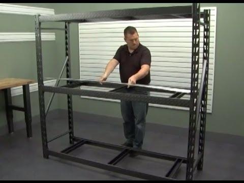 Gladiator Installation - Heavy Duty Steel Rack Shelving