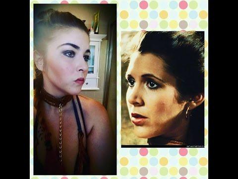 Halloween Tutorial||Princess Leia||MakeUp||Costume