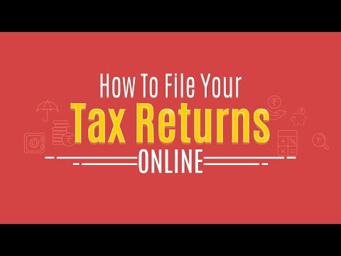 How To File Tax Returns Online