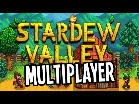 Stardew Valley MULTIPLAYER BETA is Here! - Stardew Valley Gameplay