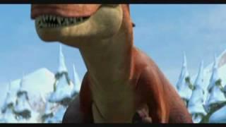 L'Era Glaciale 3 - Attacco Mamma T Rex con Riccio In Fuga