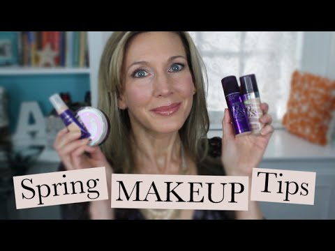 Spring Makeup Tips with CoverGirl + Olay Simply Ageless!