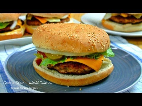 Ground Turkey Burgers