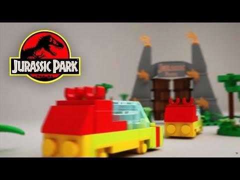 Lego Microscale Jurassic Park