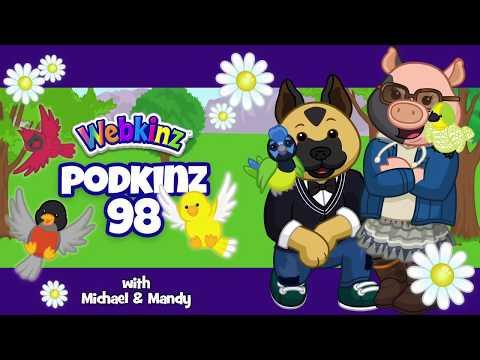 Webkinz Podkinz 98: Flowers, Birds, Buddies & a Free Code!