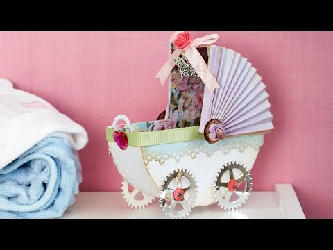 Making a 3D Baby Carriage | In The Studio