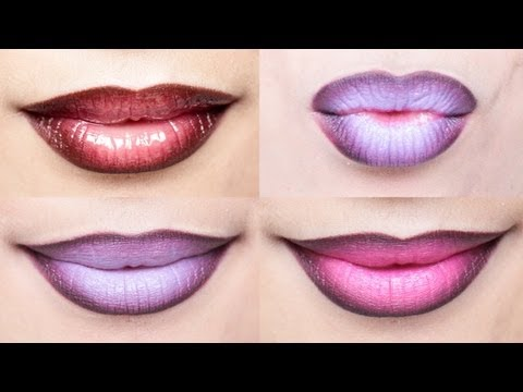 Ombre Lips Tutorial with 3 Different Styles | milavictoria