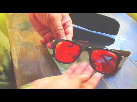 Clark n Palmer Mirrored Sunglasses Unboxing Coral Colour