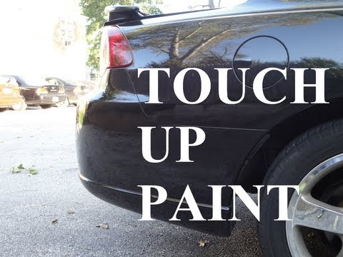 How to Apply Touch Up Paint (to Almost Like New!)