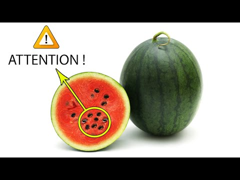 If You Open a Watermelon and See This, Throw It Out!How to Choose Good Watermelon|Health Information