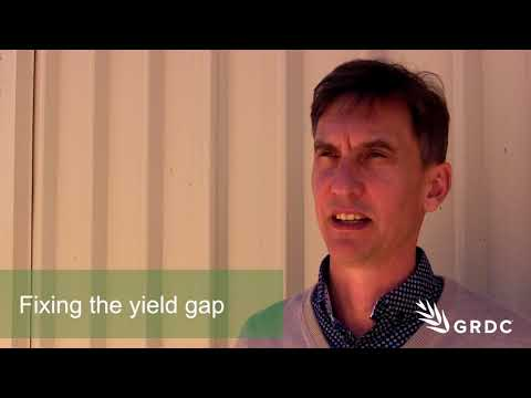 Roger Lawes, CSIRO, Close grain yield gaps with better management practices | GRDC Updates | Western