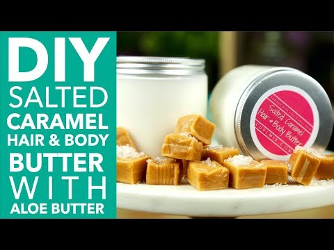 HOW TO: DIY Hair & Body Butter with Aloe Butter and Sweet Almond Butter