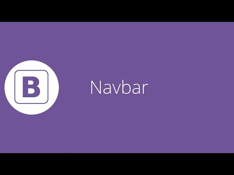Bootstrap tutorial 18 - Navbar