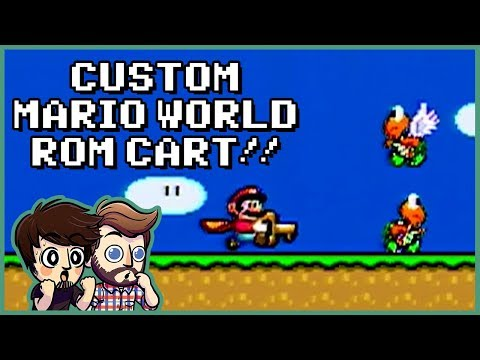 CUSTOM SUPER MARIO WORLD ROM!! | Super Mario World: Return to Dinosaur Land (Part 1)