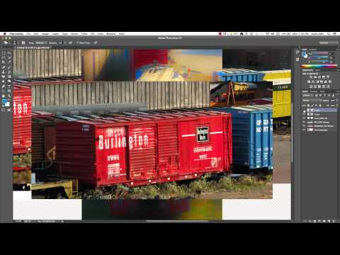 Loading Multiple Photoshop files into one layered document