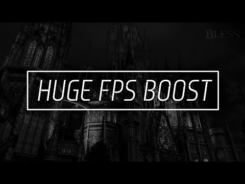 Bless Online How to Apply .ini file Mods to boost fps (pre-made file ) + Performance tips | Nyks.
