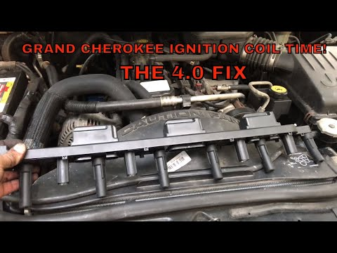 How To Replace Ignition Coil 4.0 1999-2004 Jeep Grand Cherokee